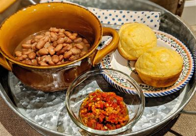 A pot of pintos makes a satisfying meal