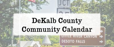 DeKalb County Community Calendar: June 12 - August 8