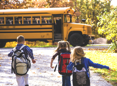 Respect the ride: stop for school buses