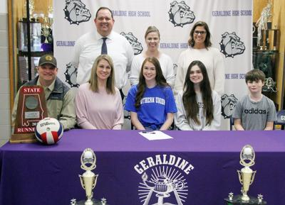 PREP VOLLEYBALL: Geraldine's Harris continuing volleyball career at Southern Union