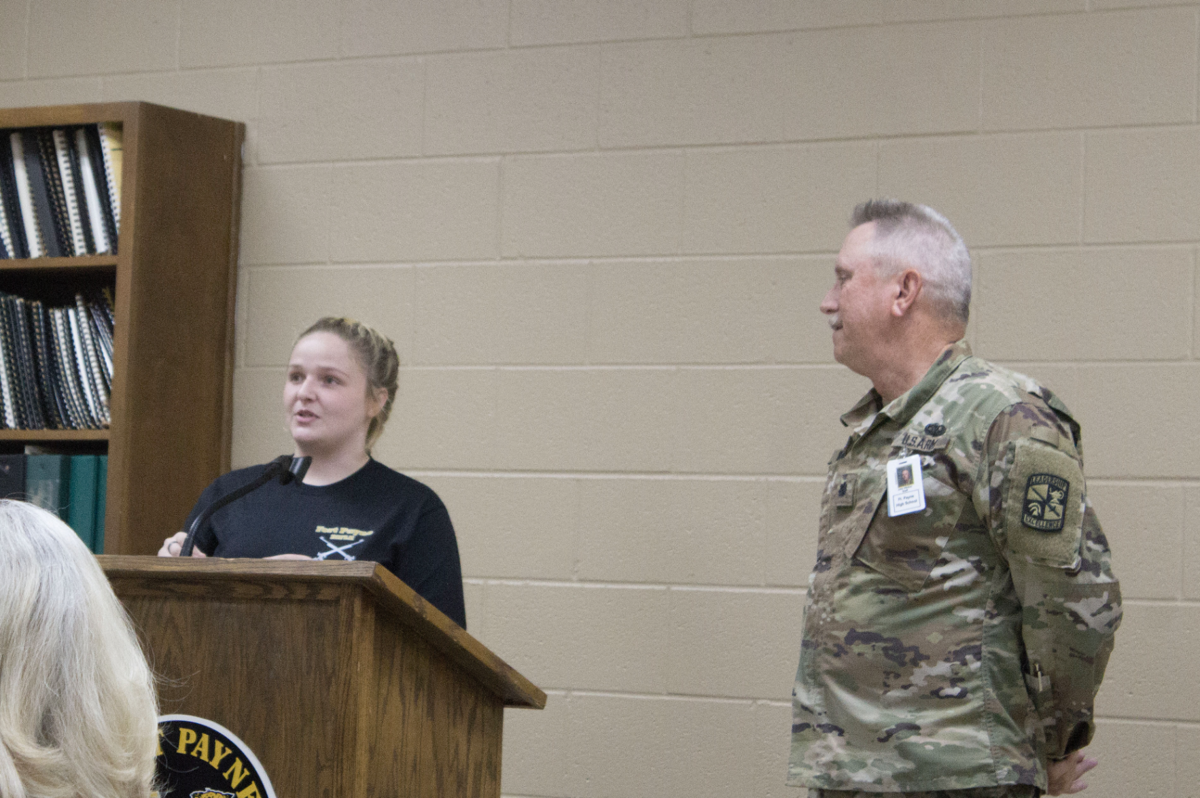 Cadet competes in national shooting competition