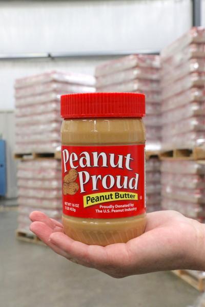 Alabama Food Bank Association receives peanut butter from the Alabama Peanut Producers Association