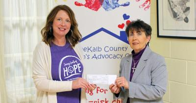 Advocacy center receives $10k  donation from nonprofit