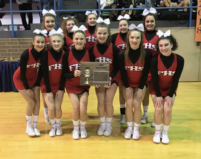 Red Devil cheerleaders bring home 7th straight state title