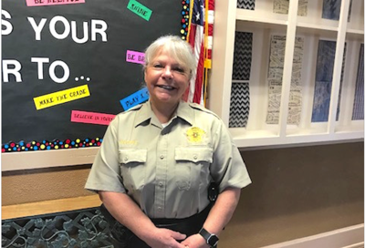 D.A.R.E. educator Mary Waters teaches from the heart