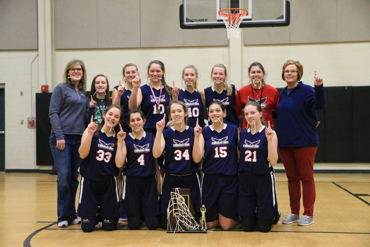Unity helps Cornerstone girls deliver school's 1st varsity title