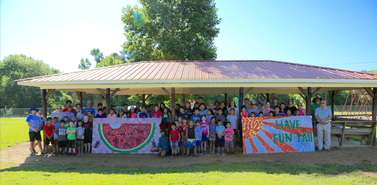 Collinsville students' service-learning project focuses on recycling, town beautification
