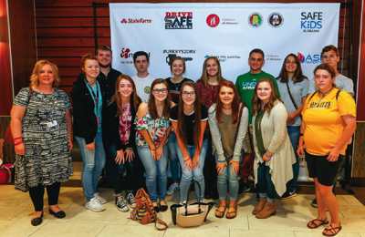 Ider students attend 'Teen Driver Safety Summit'