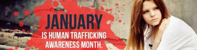 Bringing awareness to human trafficking in our area