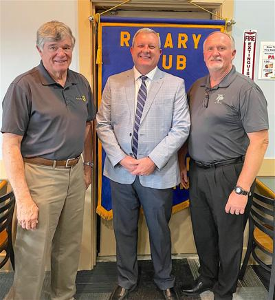 Rotary hosts outgoing and incoming Fort Payne City Schools' superintendents Cunningham and Jett