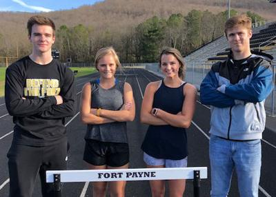 Fort Payne hurdlers draw greatness from one another