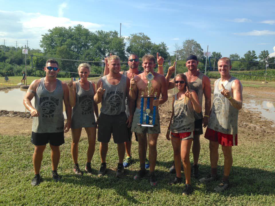 RTI Mud Volleyball Tournament a success