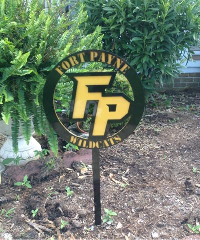 Fort Payne tennis selling yard signs