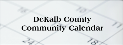Community Calendar: click for current and upcoming events
