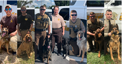Sheriff's office adds new K-9 units