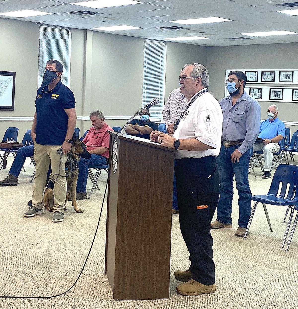 VFW, Agri-Business Center recognized for assistance during pandemic