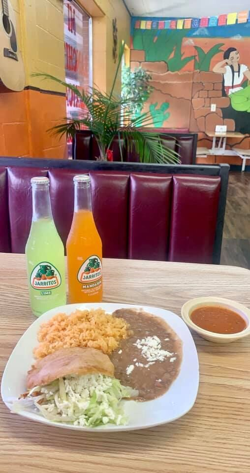 Authentic food from south of the border