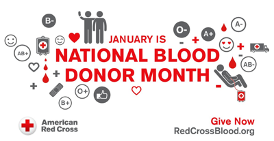 Volunteers needed for National Blood Donor Month