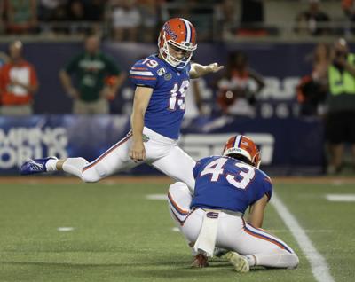 McPherson boots field goal, 4 touchbacks for Gators