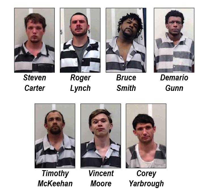 Several drug arrests last week; crack cocaine confiscated