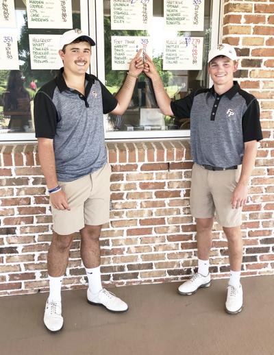 Davis, Garrett earn top 3 spots at 6A state golf tournament