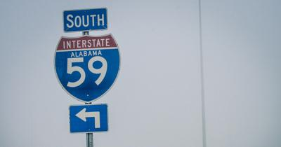 State repairing bridge at the Collinsville I-59 exit this week