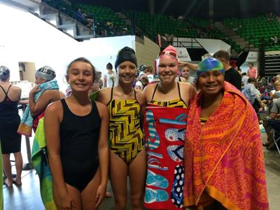 Aquacats wrap up season at district, state meets