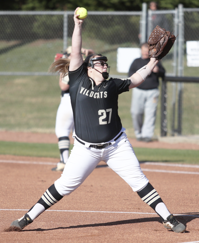Eason fires 2-hitter in 8-1 win for Lady Wildcats