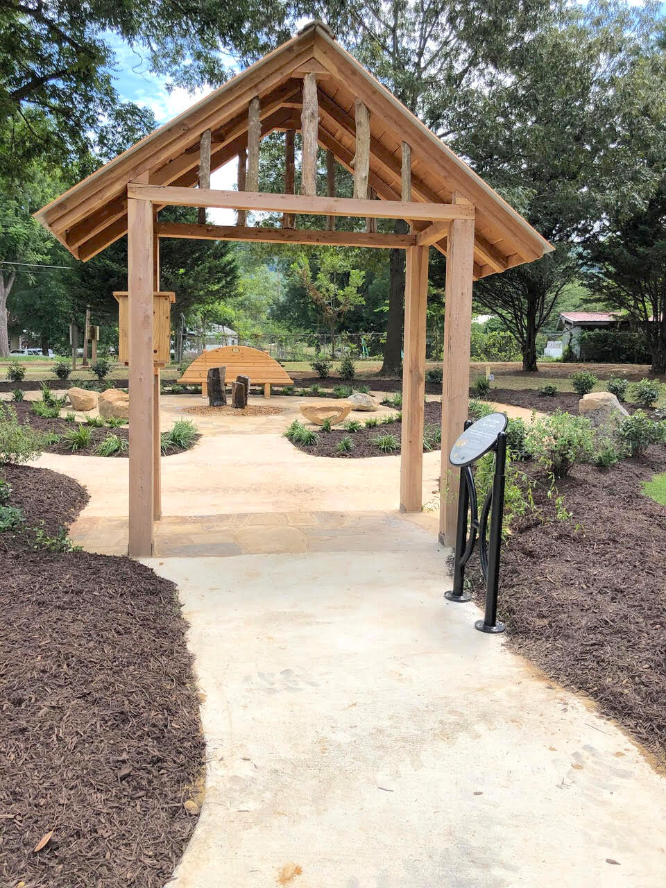 Sacred Places Open Spaces Garden added to Alabama Walking Park