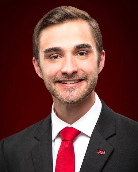 Every student matters to Jerod Sharp, SGA president