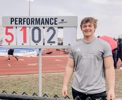 Fort Payne's Crane credits coaching, technique in setting shot put record