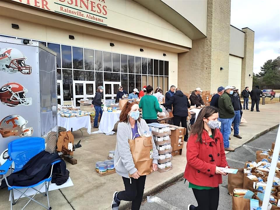 Estimated 30,000 fed from recent food drive event