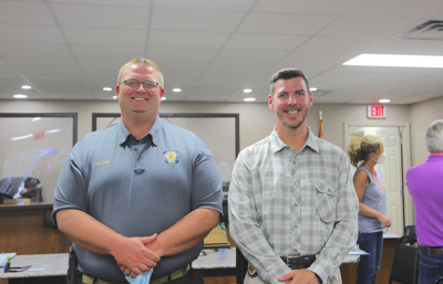 Rainsville Police Department announces new assistant chief, captain at meeting