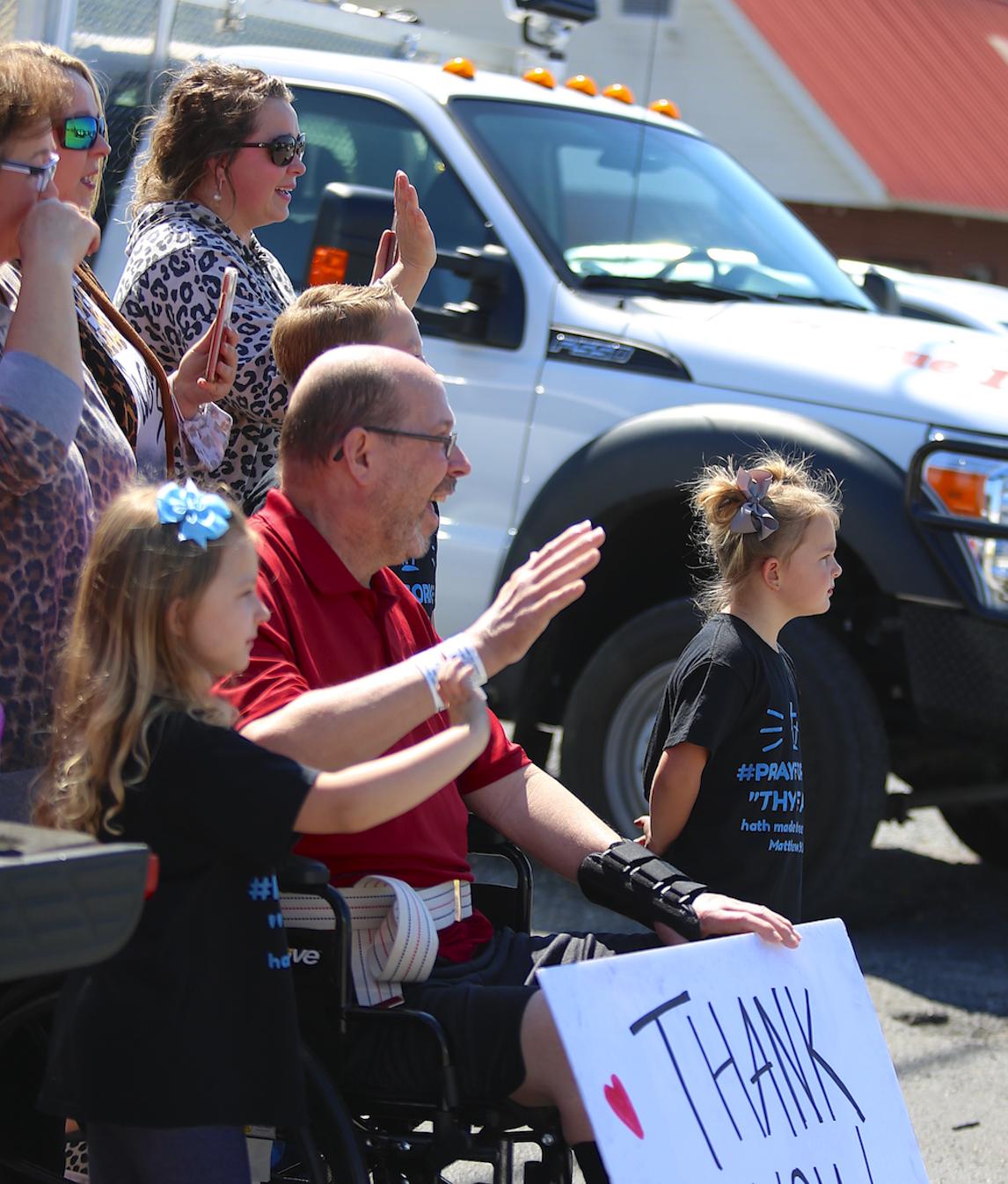 Sylvania community welcomes home Kent Wilborn