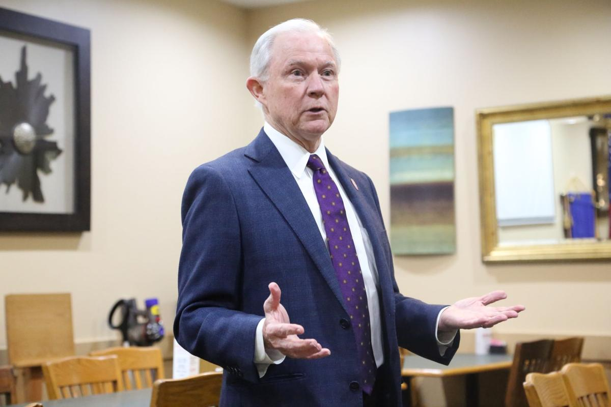 Jeff Sessions pays visit to Fort Payne
