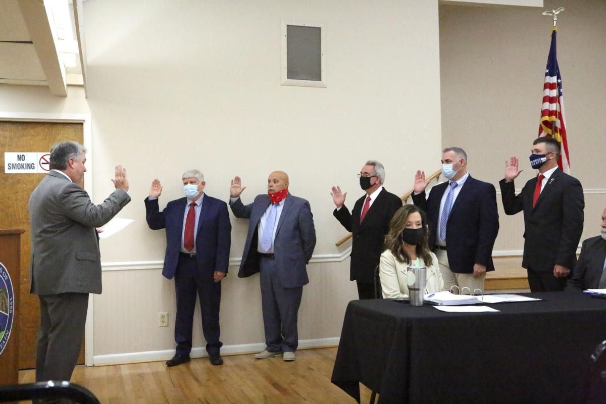 Rainsville City Council sworn in Monday night