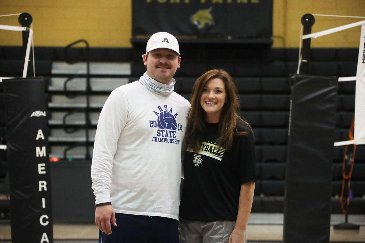 Newlywed couple guiding Fort Payne's volleyball programs