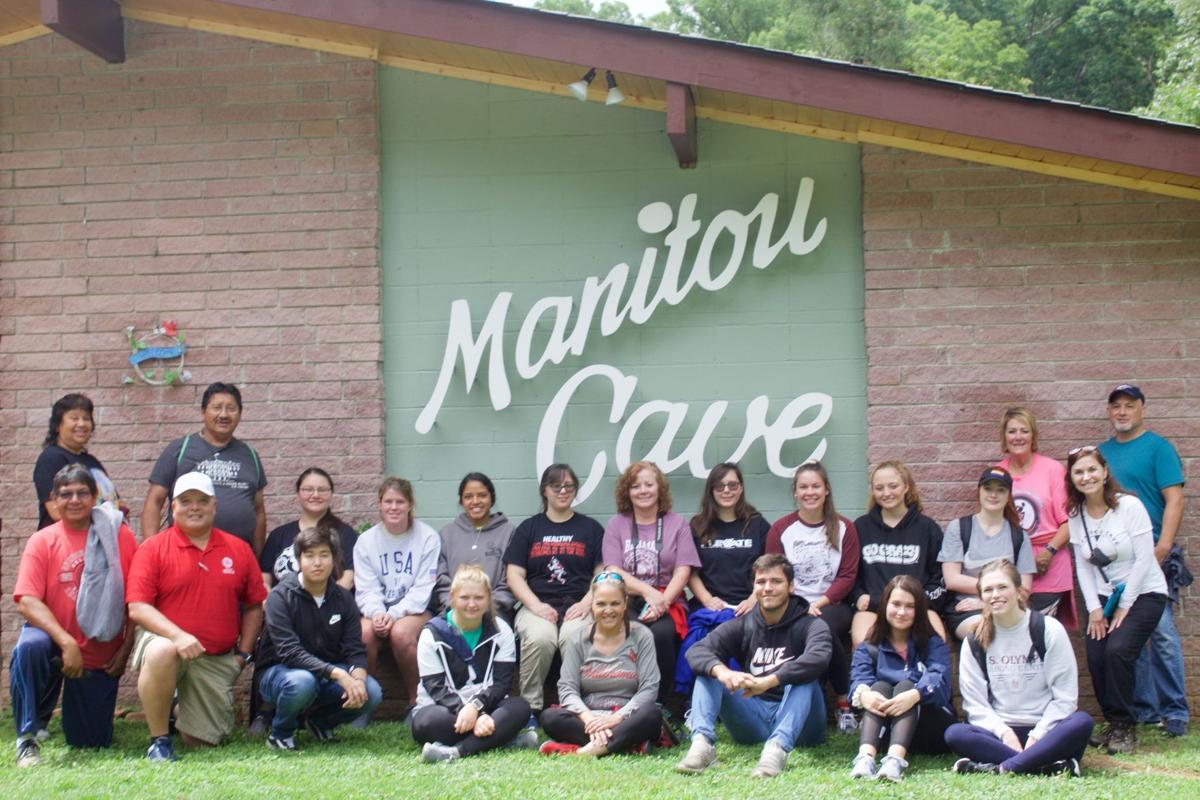 Cherokee Nation visits Manitou Cave