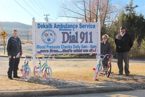 DeKalb Ambulance Service hosts 2nd toy drive for foster children