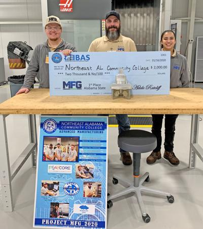 NACC team wins State Manufacturing Competition