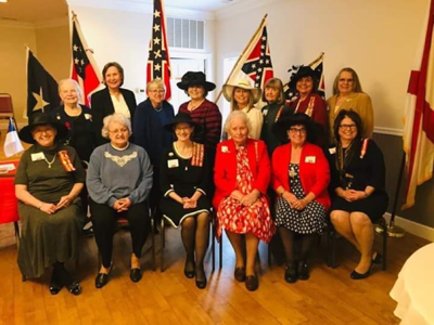 DeKalb County United Daughters of the Confederacy Chapter hosts District Meeting