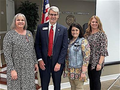 Supreme Court candidate Greg Cook visits DeKalb County