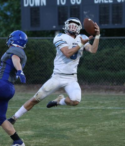 Bears score twice through the air in spring jamboree loss to NSM