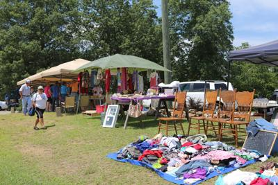 It is here, the World's Longest Yard Sale
