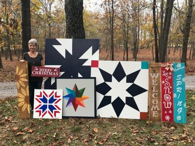 Barn quilts, a growth in popularity