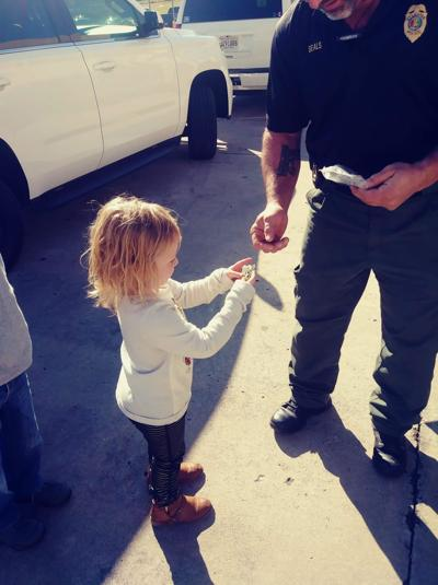 Shop With a Cop brightens  holidays for local children