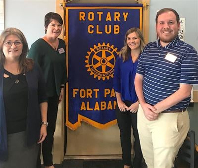 Community Action Agency of North Alabama visits Rotary