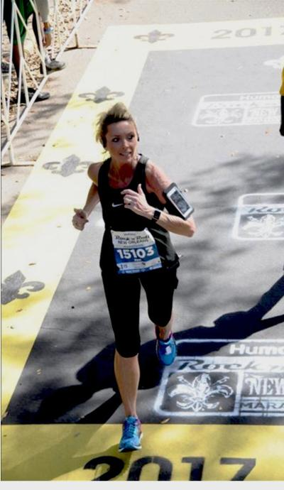 Woman becomes a grandmother, runs marathon in same year