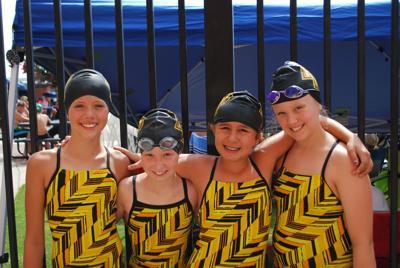 Aquacats wrap up season at state meet