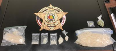 Thirteen ounces of meth seized after two search warrants